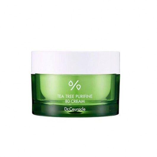 Увлажняющий крем DR.CEURACLE TEA TREE PURIFINE 80 CREAM