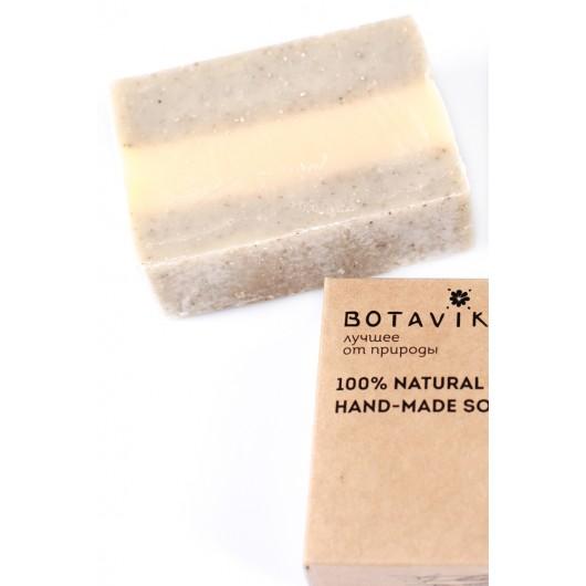 Мыло мятное с зеленой глиной ручной работы  Botavikos