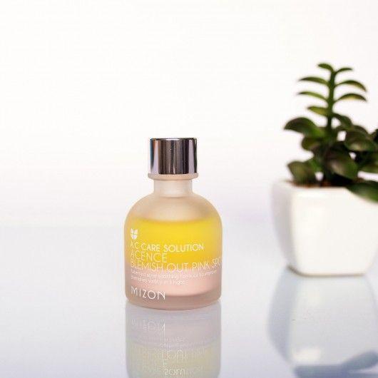 MIZON Эффективное ночное средство для лечения акне и воспалений кожи Acence Blemish Out Pink Spot