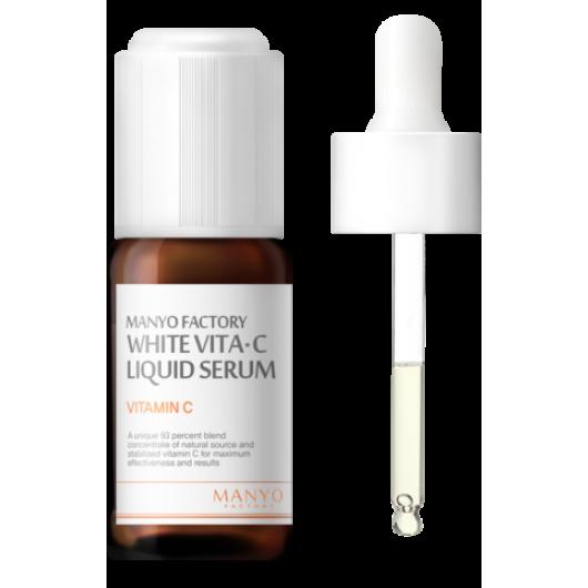 Manyo Factory White Vita·C Liquid Serum Осветляющая сыворотка с витамином С