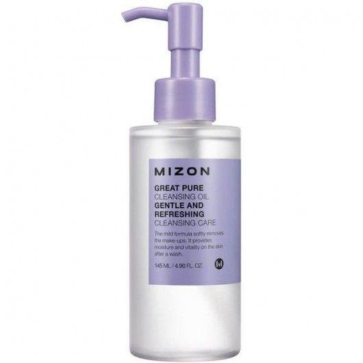 MIZON Гидрофильное масло для снятия макияжа Great Pure Cleansing Oil