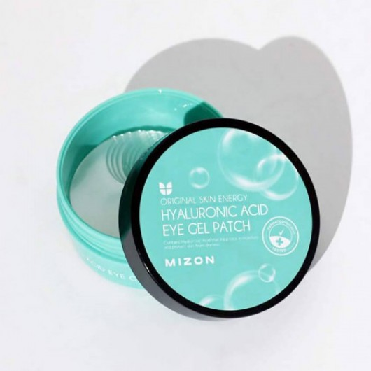 MIZON Гидрогелевые патчи c гиалуроновой кислотой Hyaluronic Acid Eye Gel Patch