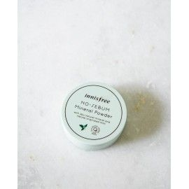 Бесцветная матирующая рассыпчатая пудра No Sebum Mineral Powder INNISFREE