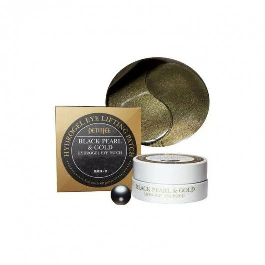 Гидрогелевые патчи для глаз (Black Pearl & Gold Eye Patch)