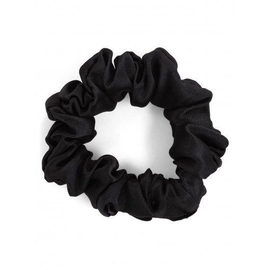 Шелковая резинка черная