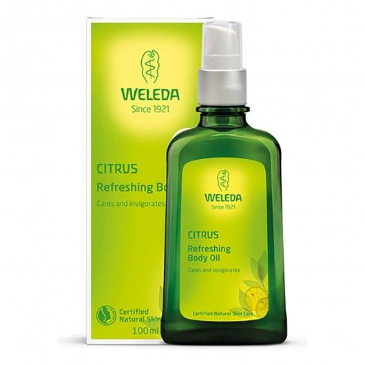 Цитрусовое освежающее масло для тела
