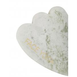 Гуаша-лапка из молочного нефрита FACE YOGA